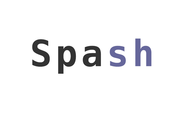 Spash - Organizing your Big Data with SSH and Bash