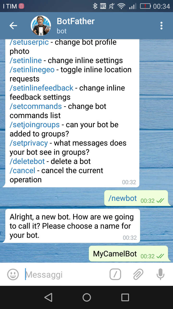 Bot Creation